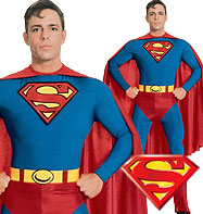 Superman - Adult Costume Fancy Dress