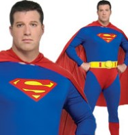 Superman Fuller Figure - Adult Costume Fancy Dress