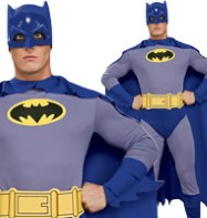 Batman Brave and the Bold - Adult Costume Fancy Dress
