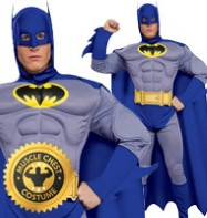 Batman Deluxe The Brave and the Bold - Adult Costume Fancy Dress