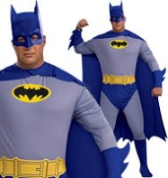 Batman The Brave and the Bold Full Figure - Adult Costume Fancy Dress
