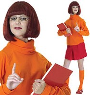 Scooby Doo's Velma - Adult Costume Fancy Dress