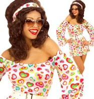 70's Cutie - Adut Costume Fancy Dress