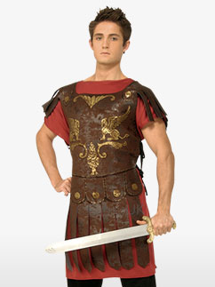 Gladiator - Adult Costume Fancy Dress