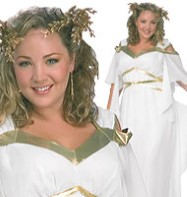 Roman Goddess - Adult Costume Fancy Dress