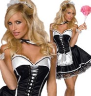 Sexy Maid - Adult Costume Fancy Dress