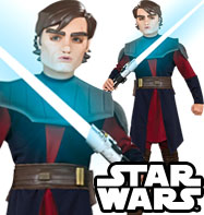 Anakin Skywalker Deluxe - Child Costume Fancy Dress