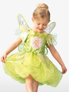 Tinkerbell Platinum - Child Costume Fancy Dress