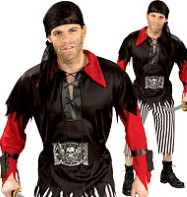 Pirate King - Adult Costume Fancy Dress