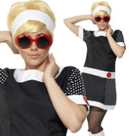 Mod Chic - Adult Costume Fancy Dress