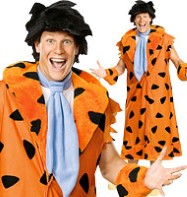 Deluxe Fred Flinstsone - Adult Costume Fancy Dress