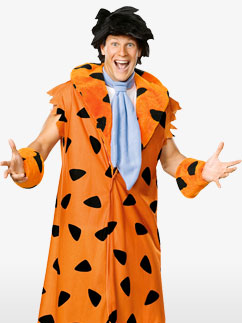 Deluxe Fred Flintstsone - Adult Costume Fancy Dress