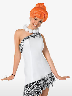 Wilma Flintstone Deluxe - Adult Costume Fancy Dress