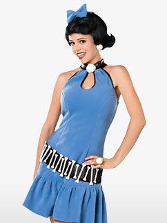 Deluxe Betty Rubble - Adult Costume Fancy Dress