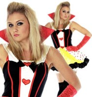 Queen of Hearts - Adult Costume Fancy Dress