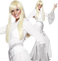 ABBA Disco Lady - Adult Costume Fancy Dress