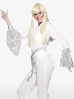 Disco Lady - Adult Costume Fancy Dress