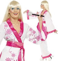 Mini Kimono - Adult Costume Fancy Dress