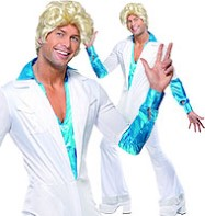ABBA Disco Man - Adult Costume Fancy Dress