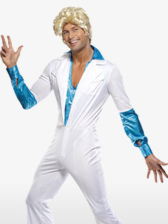 Disco Man - Adult Costume Fancy Dress