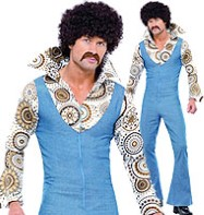 ABBA Groovy Dancer - Adult Costume Fancy Dress