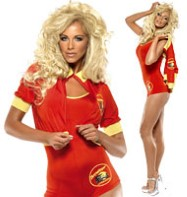 Baywatch Lifeguard - Adult Costume Fancy Dress
