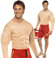 Baywatch Lifeguard Man - Adult Costume Fancy Dress