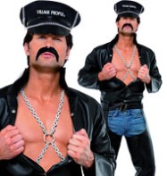 Village People Biker - Adult Costume Fancy Dress
