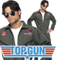 Top Gun Aviator - Adult Costume Fancy Dress
