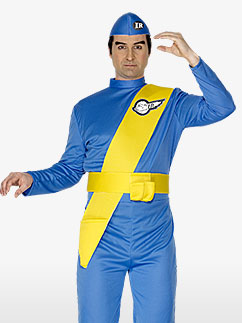Thunderbirds Virgil - Adult Costume Fancy Dress