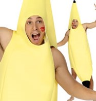 Banana - Adult Costume Fancy Dress