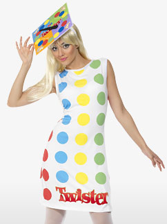 Twister Woman - Adult Costume Fancy Dress