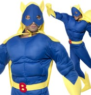 Bananaman - Adult Costume Fancy Dress