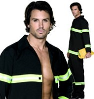 Fireman - Adult Costume Fancy Dress