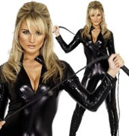 Cat Suit Black - Adult Costume Fancy Dress