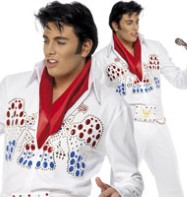 Elvis American Eagle - Adult Costume Fancy Dress