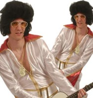 Elvis Budget Jumpsuit - Adult Costume Fancy Dress