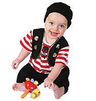 Buccaneer - Baby Costume Fancy Dress