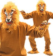 Lion - Adult Costume Fancy Dress