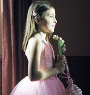 Sequin Ballgown Pink - Child Costume Fancy Dress