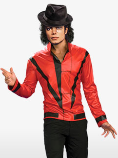 Michael Jackson Thriller Jacket - Adult Costume Fancy Dress
