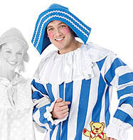 Andy Pandy - Adult Costume Fancy Dress