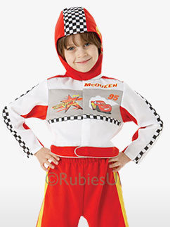 Cars Lightning McQueen - Child Costume Fancy Dress