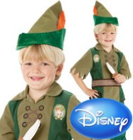 Peter Pan - Child Costume Fancy Dress
