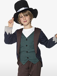 Victorian Poor Boy - Child Costume