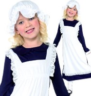 Victorian Poor Girl - Child Costume Fancy Dress