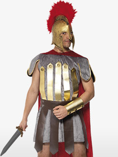 Roman Warrior - Adult Costume Fancy Dress
