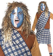 Brave Scotsman - Adult Costume Fancy Dress