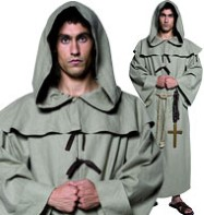 Friar Tuck - Adult Costume Fancy Dress