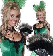 Western Salloon Girl - Adult Costume Fancy Dress
